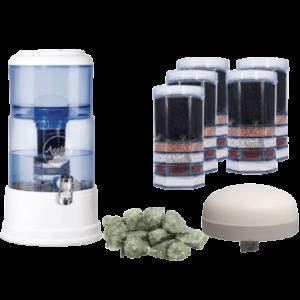 Großes Einsteigerpaket AcalaQuell® Mini- Blau